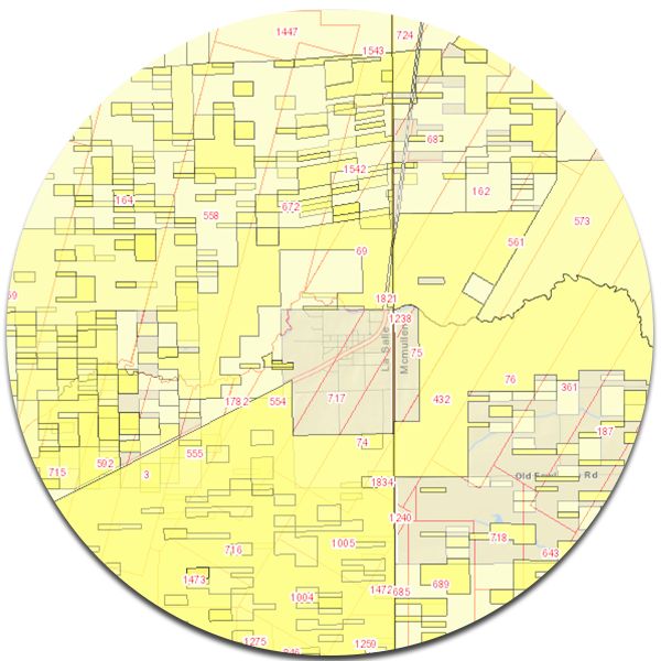 Competitor Lease Layer in Oil and Gas Mapping Software for Tobin Data | P2 Energy Solutions