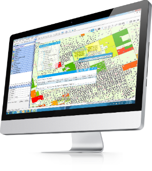 P2 Land and its embedded map give everyone on an oil and gas team, from lease analysts to executives and everyone in between, the ability to visualize company assets and gain on-the-spot answers to advanced land questions.