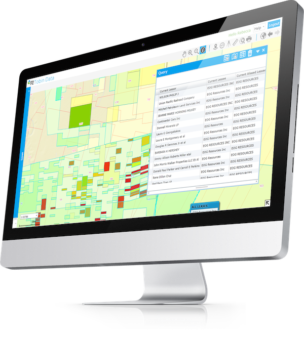 Tobin Data | Oil and Gas Mapping Software | P2 Energy Solutions