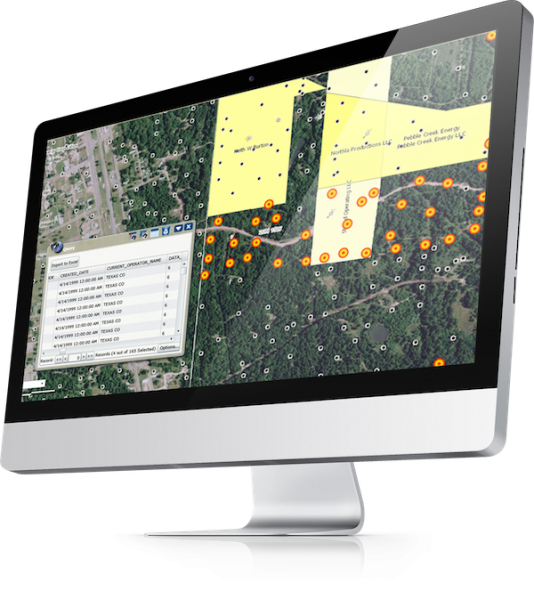 Well Permit Info in Oil and Gas Mapping Software | Tobin Data | P2 Energy Solutions