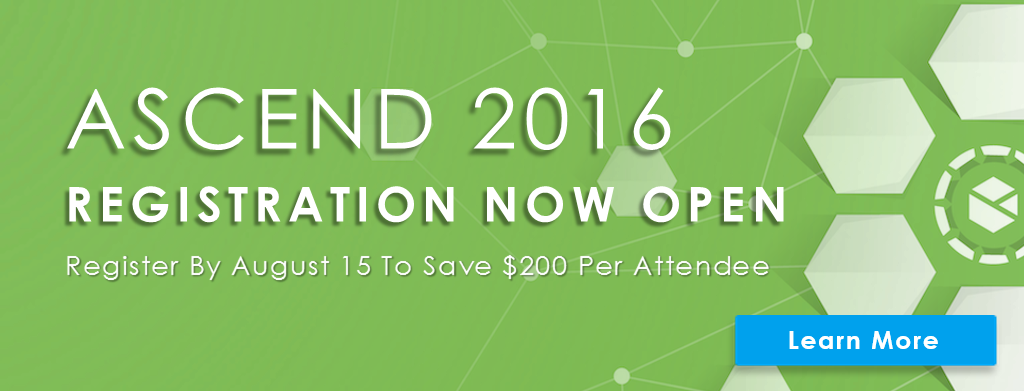 ASCEND 2016 Registration Now Open