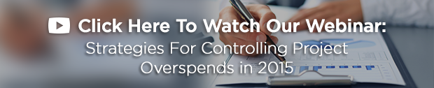 Strategies For Controlling Project Overspend in 2015